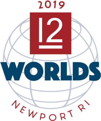 2019 12mR World Championship Regatta logo