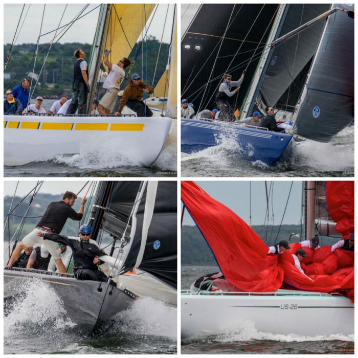 Plenty of 12 Metre action in store for 2019 at the 12 Metre Worlds in Newport, R.I. (Photo credit: Stephen Cloutier)