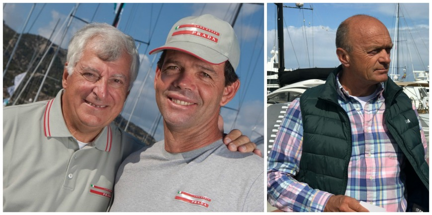 Italy's Patrizio Bertelli, CEO of the Prada fashion group and primary backer of the Challenger of Record (Luna Rossa) for the 36th America's Cup, will join five-time Olympic Medalist Torben Grael aboard Kookaburra II (KA-12) at the 2019 12 Metre World Championship. (Photo credit Carlo Borlenghi) Sailing aboard Legacy (KZ-5) will be three-time Olympic medalist Jesper Bank. (Photo courtesy Jesper Bank)