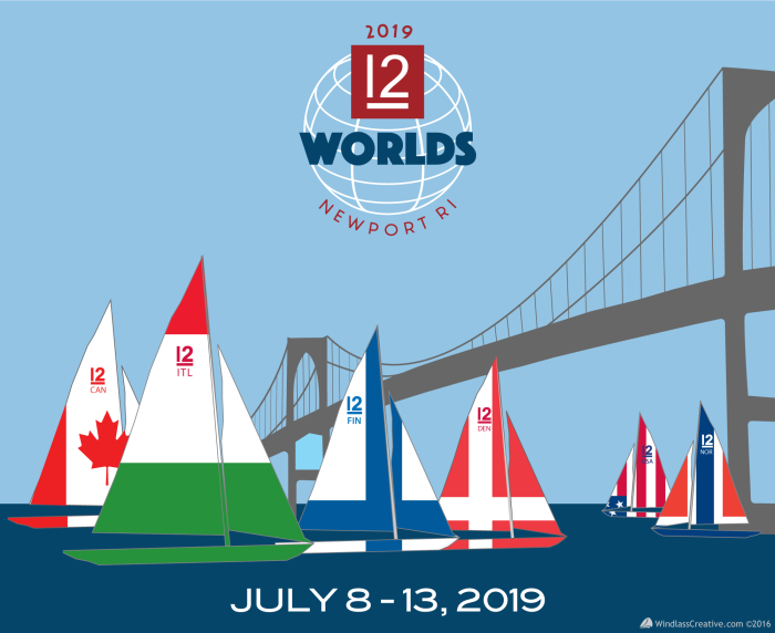 2019 12 Metre World Championship graphic
