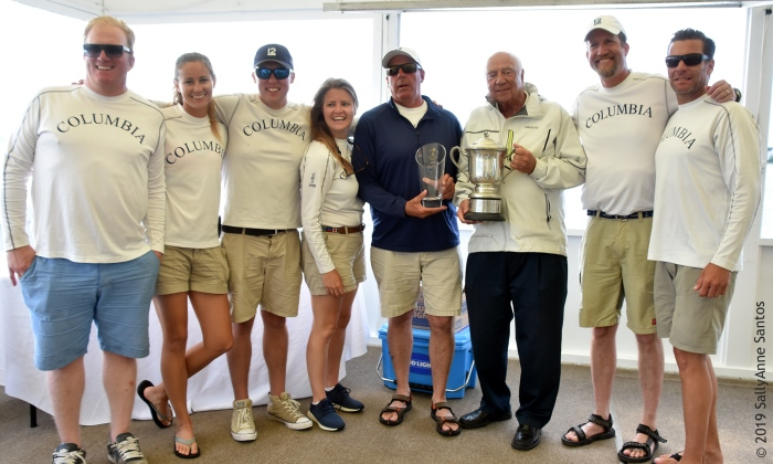 Team Columbia, Newport Trophy Prize Giving