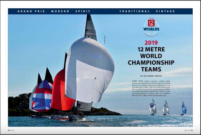 2019 12 Metre World Championship program