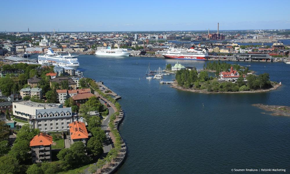 Helsinki Finland by Soumen Ilmankuva