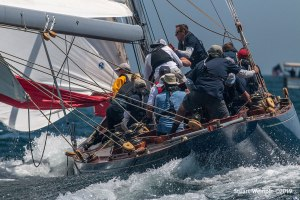2019 12 Metre World Championship, photo by Stuart Wemple