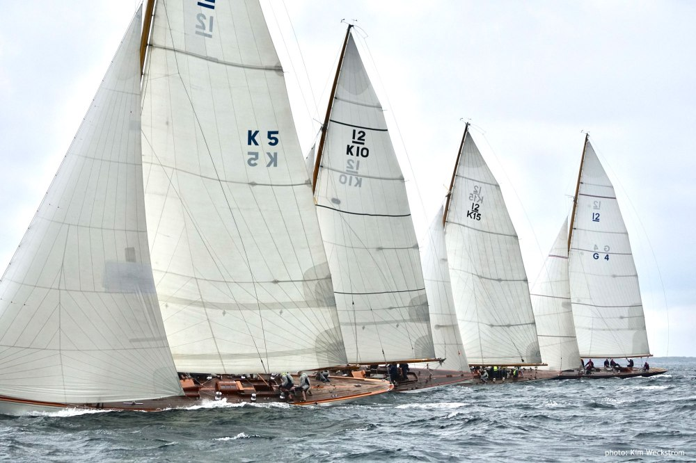 2019 12mR European Championship at Marstrand, Sweden by Kim Weckstrom
