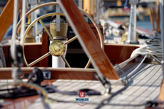 2021 EVLI 12mR World Championship, photo: Sailpix.fi