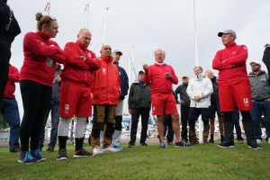 2021 Evli 12mR World Championship Skippers Meeting, August 19   Kim Weckström